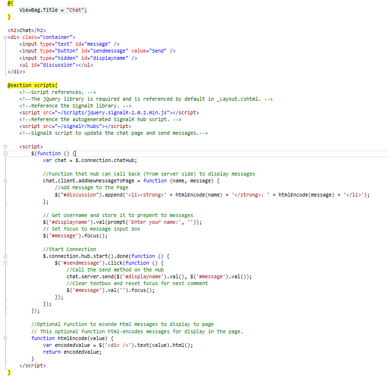 SignalR, Web Sockets, Incredible Web, Web Development, Web